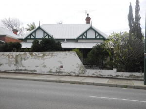 cottersloe front view before